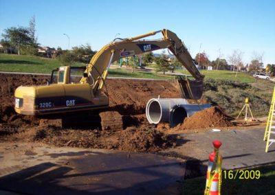 backhoe-excavator